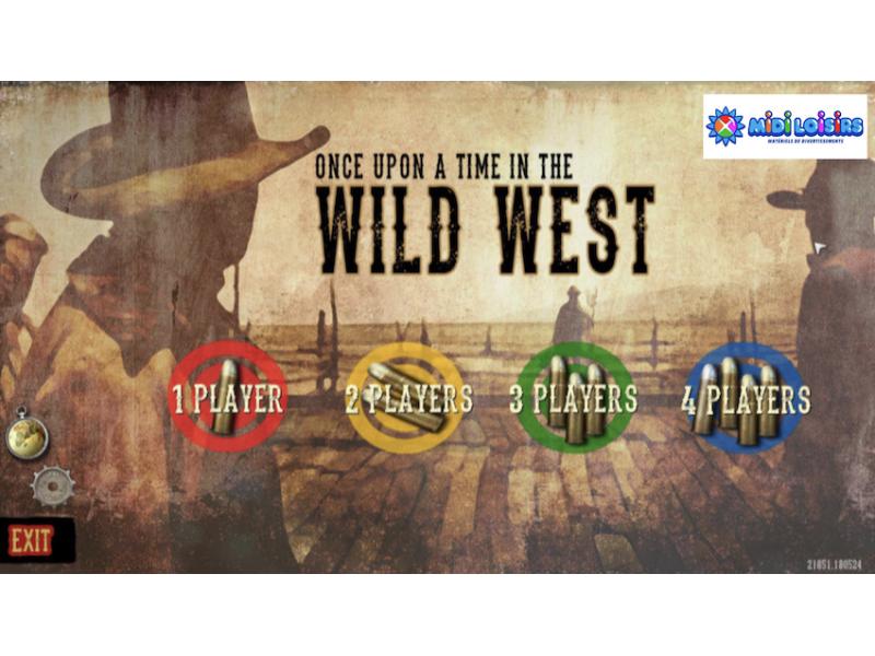 Stand de tir western interactif