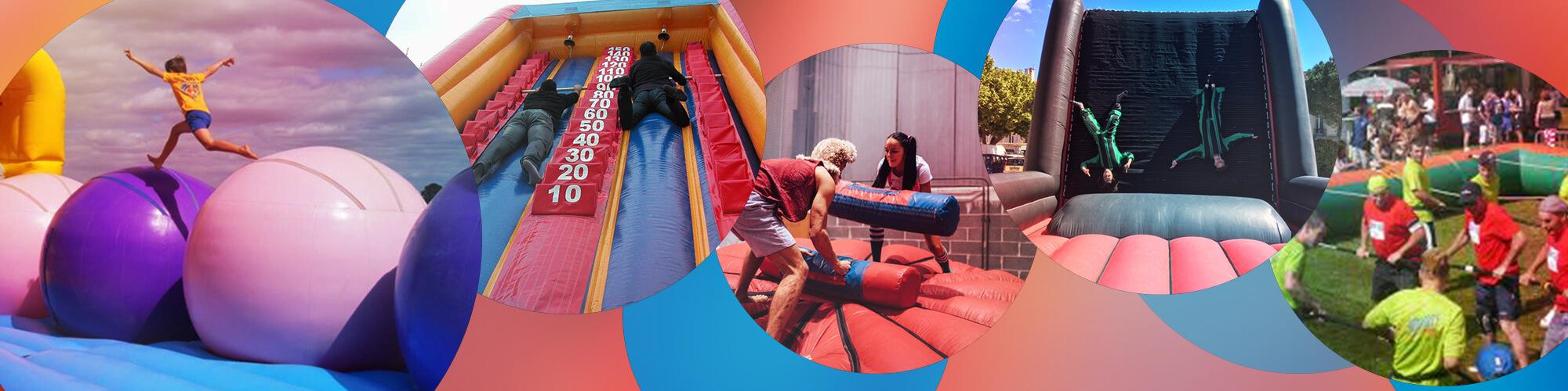 Jeux Gonflables Sportifs